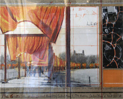 Christo, 'The Gates Drawing', 2003