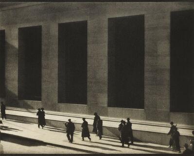 Paul Strand, 'Wall Street, New York', 1915