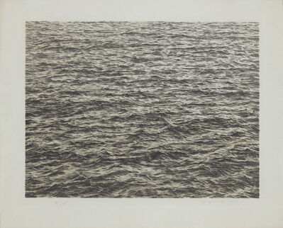 Vija Celmins, 'Untitled (Ocean)', 1975