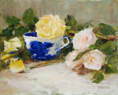 Kathy Anderson, 'Roses and Flo Blue', 2020