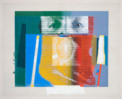 Paolo Gioli, 'Ritratto innominabile', 1974
