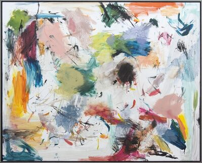Scott Pattinson, 'Ouvert No 34 - large, vibrant, colourful, gestural abstraction, oil on canvas', 2018