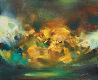 Chu Teh-Chun, 'Éclat passager', 2007