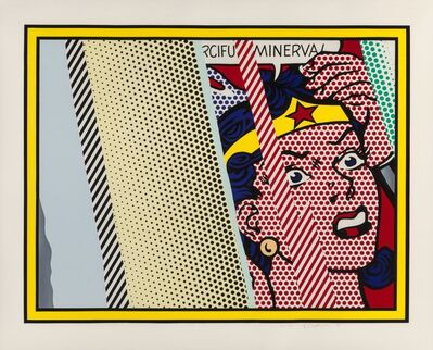 Roy Lichtenstein, 'Reflections on Minerva', 1990