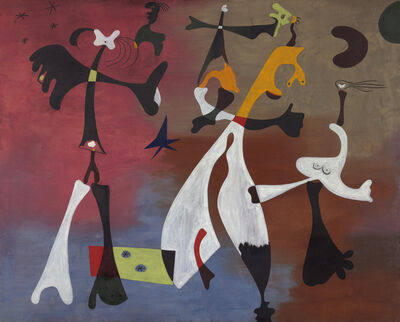 Joan Miró, 'Personages with Star (Personnages avec étoile)', 1933
