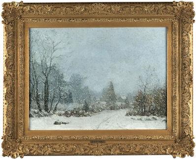 Cyrus Edwin Dallin, 'A Winter Landscape', 1900-1910