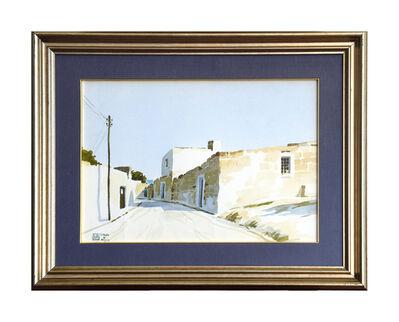 Aldo Riso, 'Strada di Puglia ', 20th century