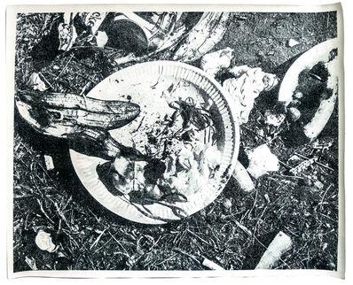 Geoffrey Hendricks, 'Picnic Garbage Placemat', 1973