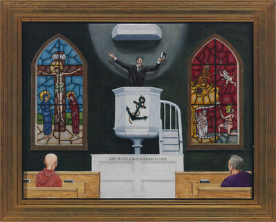 Tim Vermeulen, 'Moby Dick: The Sermon', 2010