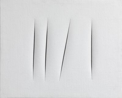 Lucio Fontana, 'Concetto spaziale, Attese', 1964 -1965