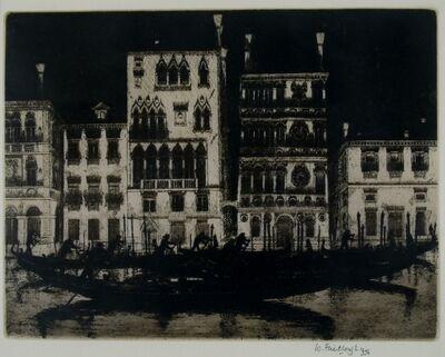 Wilfred Fairclough, 'Palazzo Dario, Venice', 1996