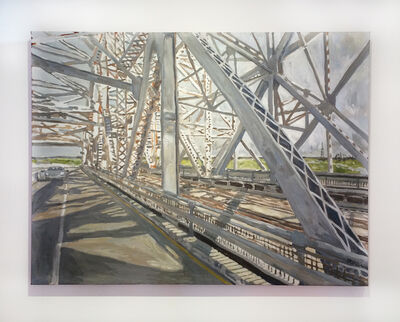 Edward Bear Miller, 'Huey Long Bridge', 2014