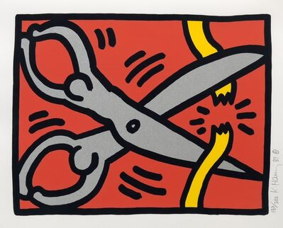 Keith Haring, 'Pop Shop III, (2)', 1989