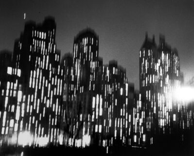 Ted Croner, 'Central Park South', 1947-48