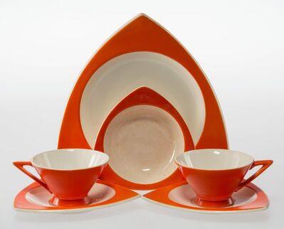 Donald A. Schreckengost, 'Thirty-Three-Piece Tricorne and Streamline Tableware Set'