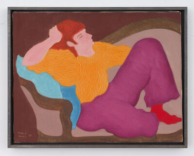 March Avery, 'Resting Redhead', 1987