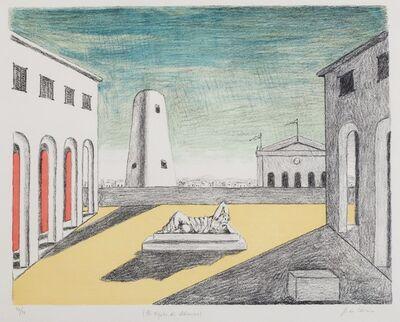 Giorgio de Chirico, 'Il riposo di Arianna', 1969