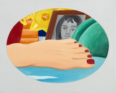 Tom Wesselmann, 'Study for Bedroom Painting (Daniéle)', 1971