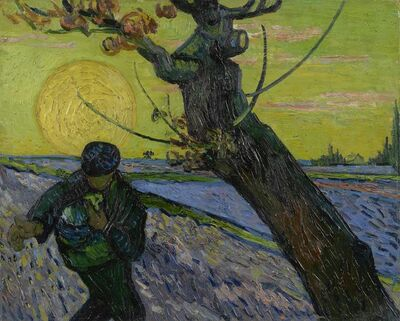 Vincent van Gogh, 'The Sower', 1888