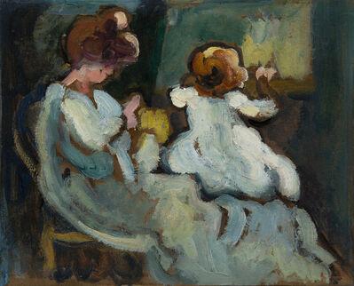 Louis Valtat, 'Suzanne et Jean à la fenêtre', ca. 1908