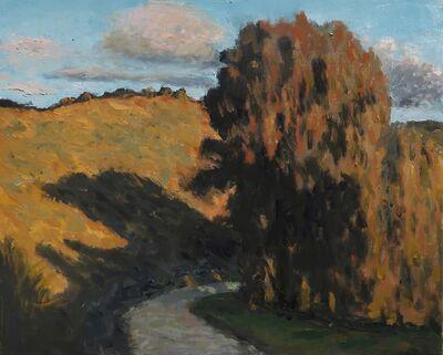 Albert Hadjiganev, 'Soir dans les collines II',