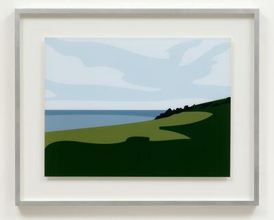 Julian Opie, 'Lantivet coast.', 2017