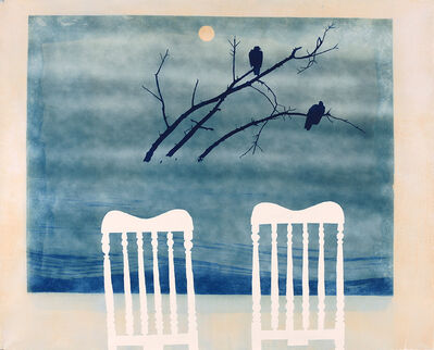 Casey Roberts, 'Unfinished Painting (with two chairs)'