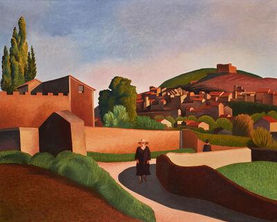 Auguste Herbin, 'Le Chemin du Bon Ange à Vaison-la-Romaine', 1924
