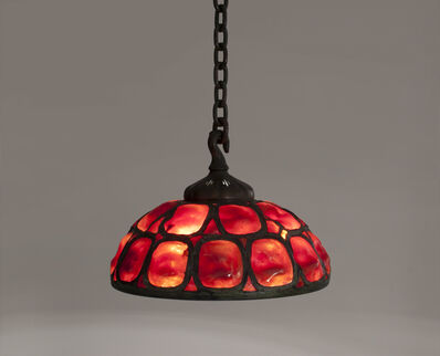 Tiffany Studios, 'Hanging Turtle Back Shade', ca. 1900