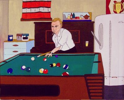 Don Hammontree, 'Billiards In The Basement', 2017