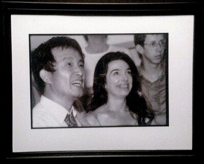 Paul Garrin, 'Nam June Paik & Charlotte Moormon, Whitney Museum', 1982