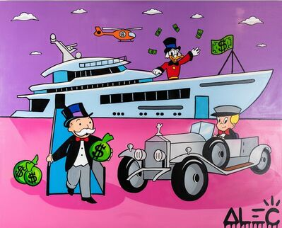 Alec Monopoly, 'Monopoly Gang with Yacht and Car ', 2019