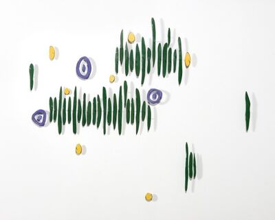 Carolina Sardi, 'Green, Lavender and Yellow', 2008