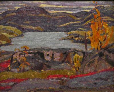 Alexander Young Jackson, 'Jackfish Lake', 1924
