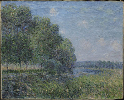 Alfred Sisley, 'River View', 1889