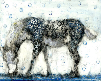 Alicia Rothman, 'Blue Balloon Horse', 2018