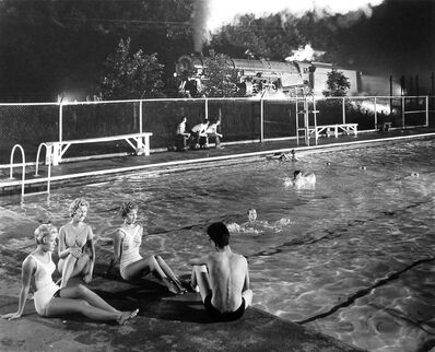O. Winston Link, 'Swimming Pool, Welch, West Virginia', 1958