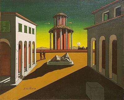 Giorgio de Chirico, 'Piazza d'Italia '