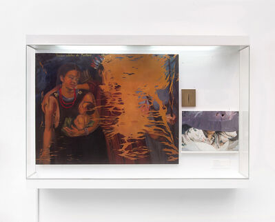 Sandra Gamarra, 'Vitrina del mestizaje I (Mestizaje, Richter, Fontana)', 2012