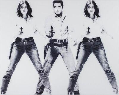 Ulrike Rosenbach, 'Art is a criminal action (Elvis III)'