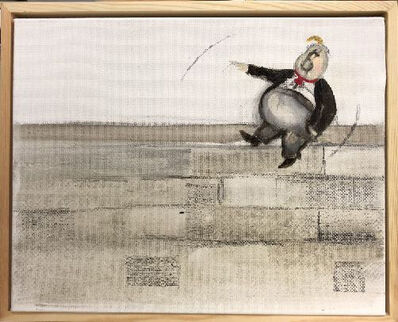 Sandra Ramos, 'Trumpito. Homage to Thomas Nast (Wall)', 2017
