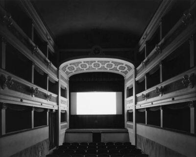Hiroshi Sugimoto, 'Teatro dei Varii, Colle di Val d'Elsa', 2014