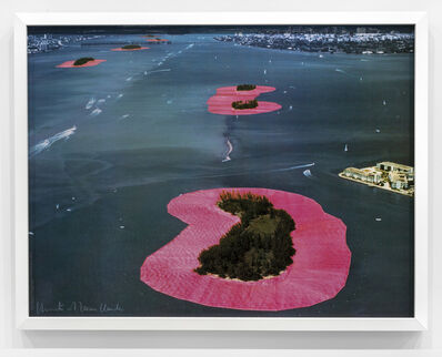 Christo, 'Surrounded Islands (Project for Biscayne Bay, Greater Miami, Florida) ', 1983