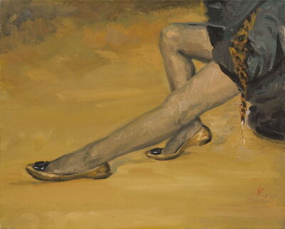 Ni Jun, 'Leopard Scarf 豹纹围巾  ', 2010