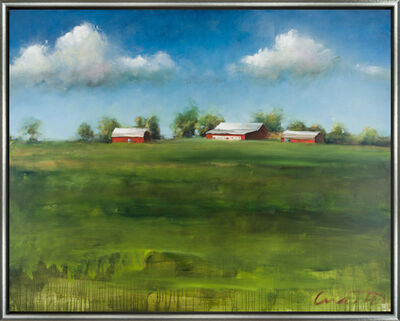 Eric Abrecht, 'Pastoral Vista'