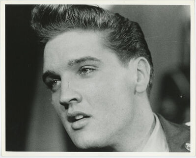 Globe Photo Archives, 'Elvis Presley Close Up 1960', 1960