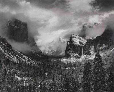 Ansel Adams, 'Clearing Winter Storm, Yosemite Valley, California', ca. 1937