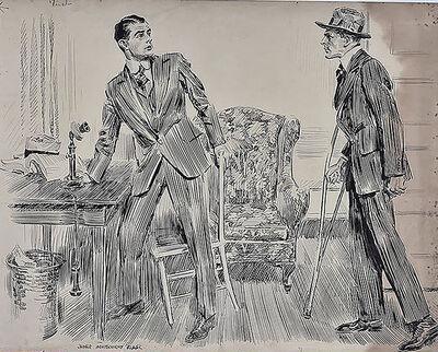 "James Montgomery Flagg, '""Three Fingered Jerry"", McClure's Magazine', 20th Century"