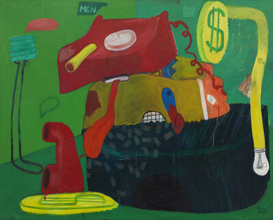 Peter Saul, 'Businessman 7', 1963