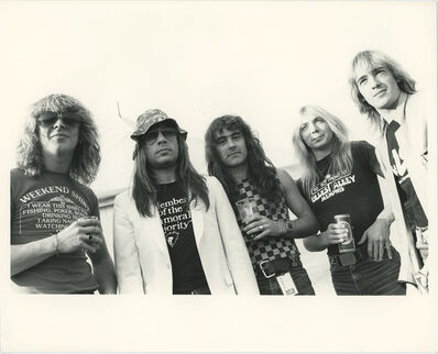 Globe Photo Archives, 'Iron Maiden Band 1982', 1982